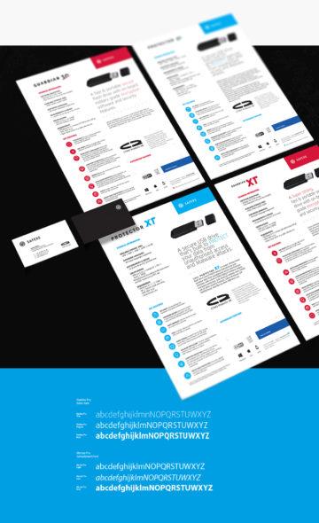 Rebranding marki safexs wykonany przez ROXX