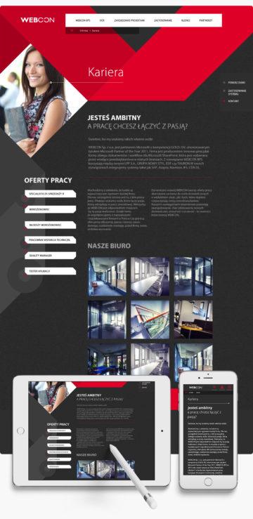 kreacja graficzna ROXX dla Webcon