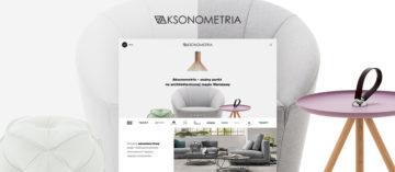 Projekt graficzny strony Aksonometria