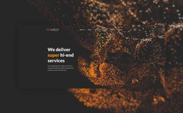 Onwelo projekt funkcjonalny strony www