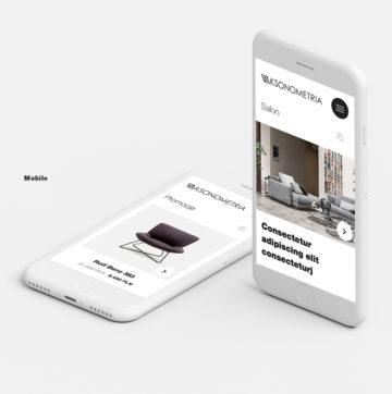 Nowy projekt graficzny strony Aksonometria
