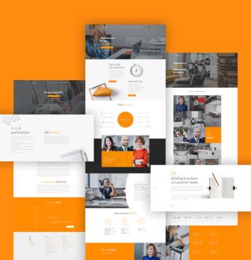 Onwelo nowy projekt graficzny serwisu