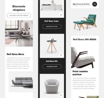 Nowy projekt strony www Aksonometria