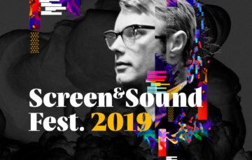 oprawa graficzna festiwalu Screen&Sound Fest. 2019